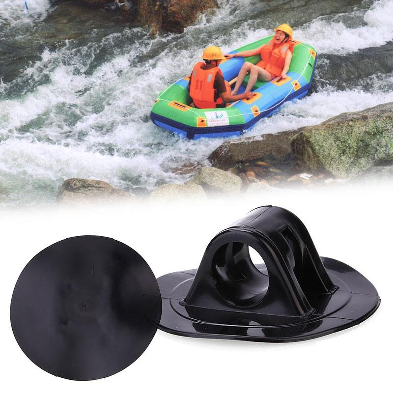 1Pcs Small Safety Rope Buckle Black Kayak Engine Mount Boat Motor Stand Holder Kit Inflatable Rowing Boats Accessories