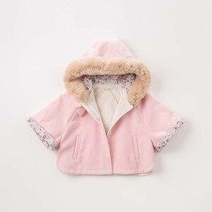 Image 2 - DBM7753 dave bella ฤดูใบไม้ร่วงฤดูหนาวเด็กทารก coat เด็กวัยหัดเดิน Hooded เสื้อเด็กคุณภาพสูง outerwear