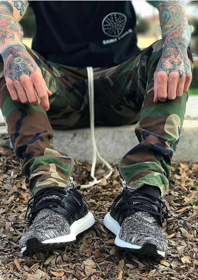 76aa2d14b29 Aliexpress.com   Buy army camo cargo pants fashion camouflage pants men  black new african clothes hip hop street jumpsuit camo cargo men s  tracksuits from ...