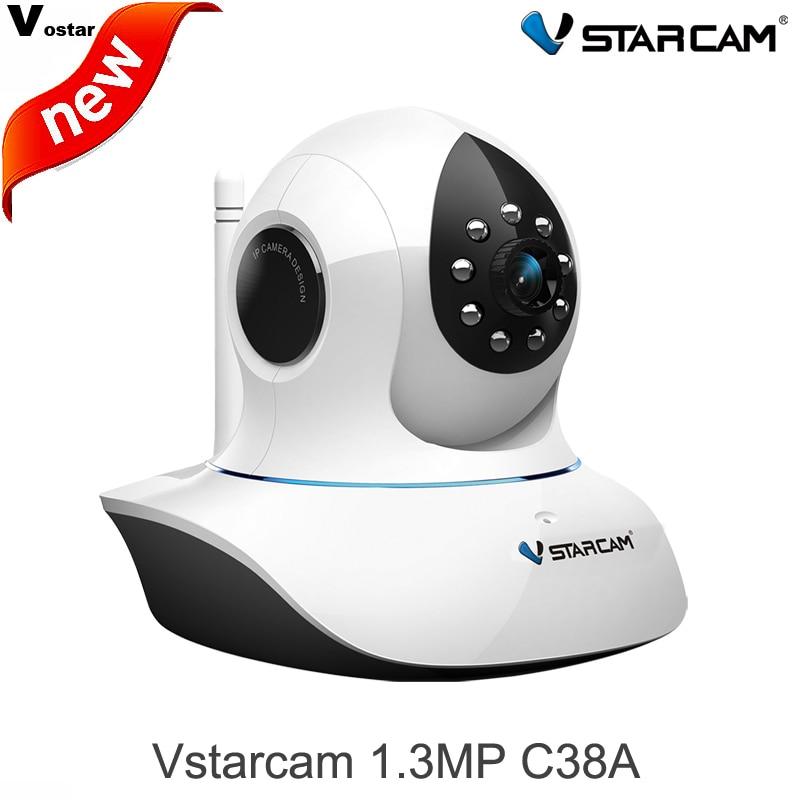 ФОТО VStarcam 1.3MP 960P IP Camera C38A wireless CCTV Indoor Camera 960P IR-Cut Infrared 2way audio Motion Alarm Security IP camera