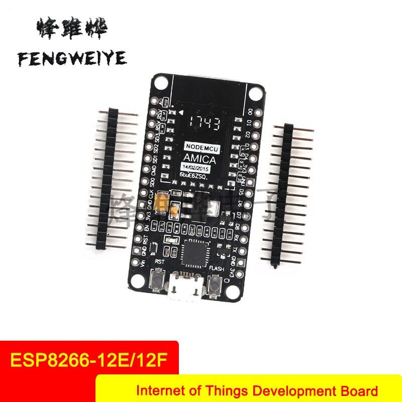 Panel WIFI IoT Development Board Based on ESP8266 12E 12F CP2102