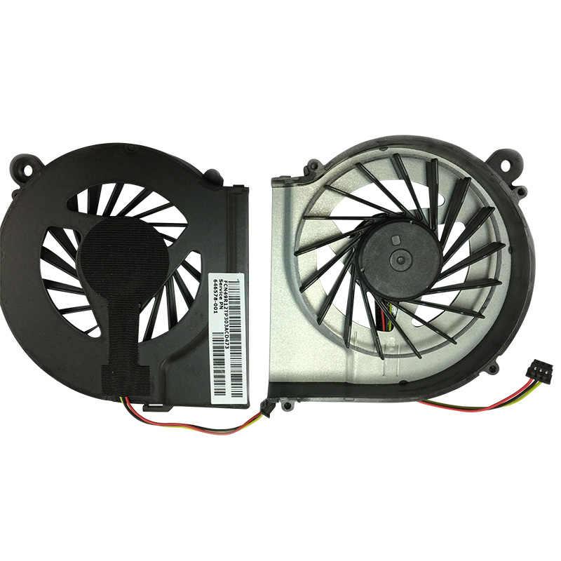 Вентилятор охлаждения для HP G4 G6 G7 CQ42 G42 CQ62 G62 CQ56 Процессор ноутбук охлаждающий вентилятор Cooler 100% Фирменная Новинка 646578-001 аккумулятор большой емкости для компьютерных фанатов