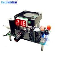 Макс. 3а 50 Вт LM338K понижающий источник питания DIY Kit цифровой понижающий модуль переменного тока 1-25 В постоянного тока 3-35 В до 1,2-30 в для Arduino