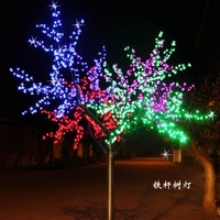 Outdoor waterproof led tree light decoration light tree 1 m crystal tree christmas new year luminaria Holiday decoration