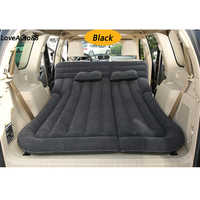 SUV Inflatable Car Bed Air Mattress Outdoor Multifunctional Back Seat with Air Pump Travel Camping For Auto Air off-road
