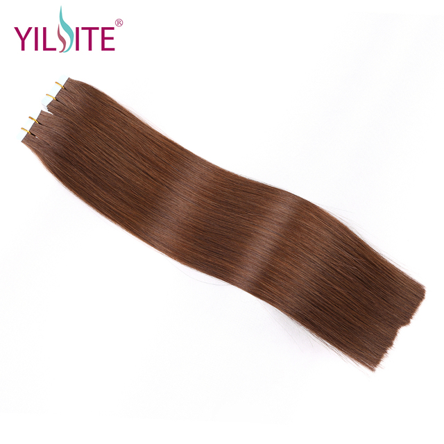 Yilite 16 20inch One Doner Full Cuticle Human Hair Extensions Can