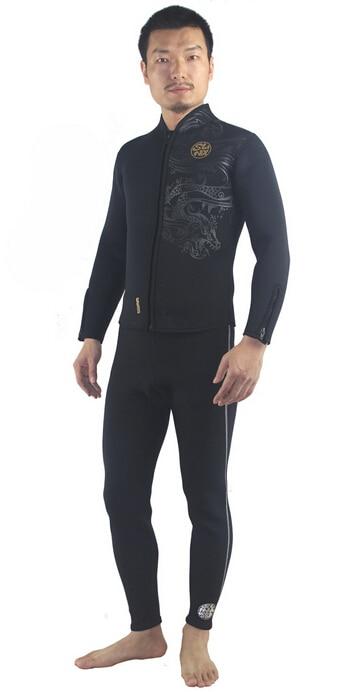 SLINX 1309 3mm Neoprene Swimwear Surfing Scuba Diving Trousers Wetsuit Windsurfing Fishing Snorkeling Fleece Lining Warm Pants