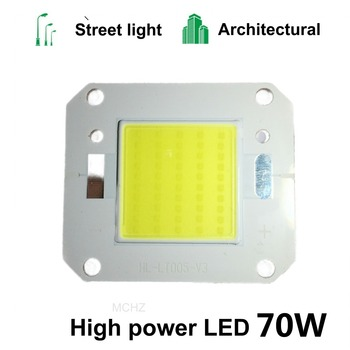 2PCS Power LED Chip Lamp 20W 30W 40W 50W 70W COB High Power Chips for Outdoor Spotlight Floodlight Square Integrated Led Lights цена 2017