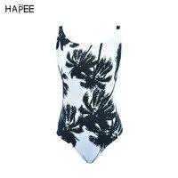 2017 sexy costumi da bagno monokini costume da bagno polka Halter palma monokini tagliato un pezzo della fasciatura del costume da bagno donna costumi da bagno Poliestere
