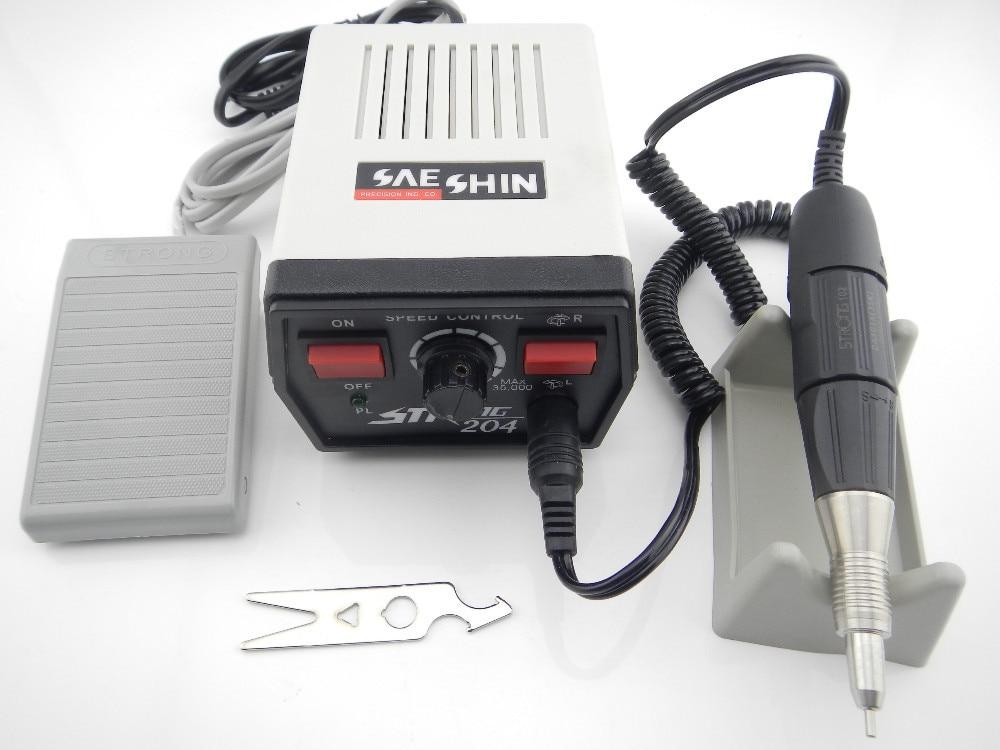 Free shipping by DHL Strong 204 Micro Motor Electric Motor Dental Micromotor Dental Lab Marathon Micromotor olympus cu453500 camera motor drive micromotor