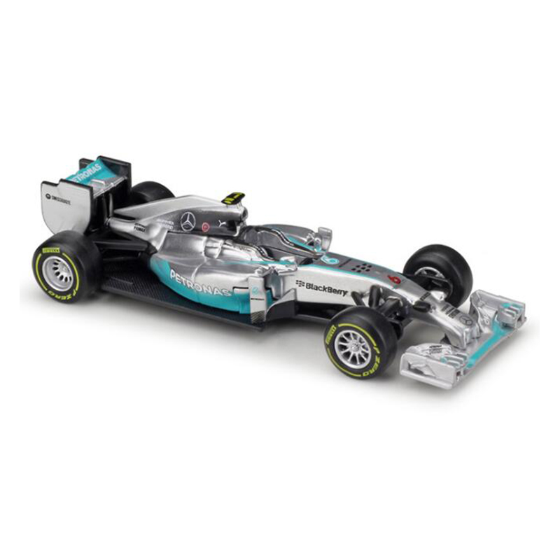 Formula 1 Car Model 1:43 F1 Mercedes W07 Hybrid Racing Car Simulation Diecast Model for Collection Alloy Metal Model Car Kid Toy yellow car model for 1 18 rover series i ltd 1948 minichamps classic collection diecast model car diy model customs made