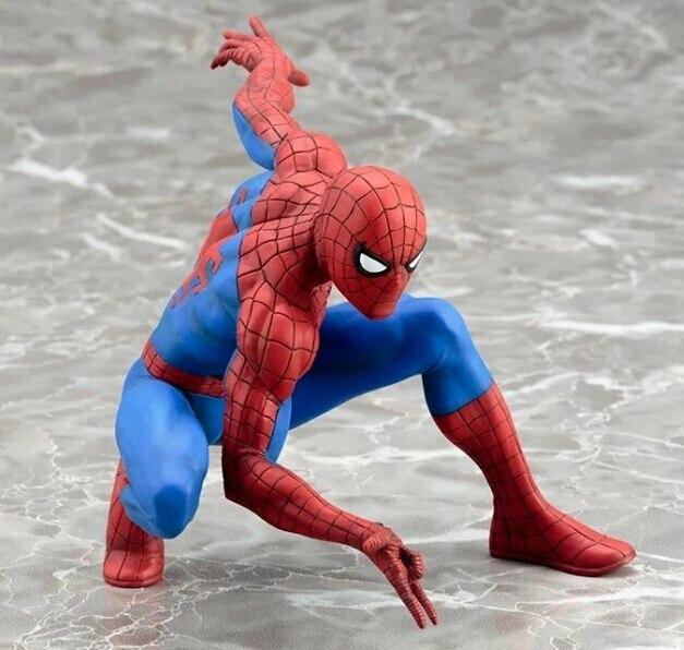 NEW hot 10 cm homem-aranha vingadores Super hero Action figure brinquedos Do Homem Aranha boneca nenhuma caixa de presente de Natal