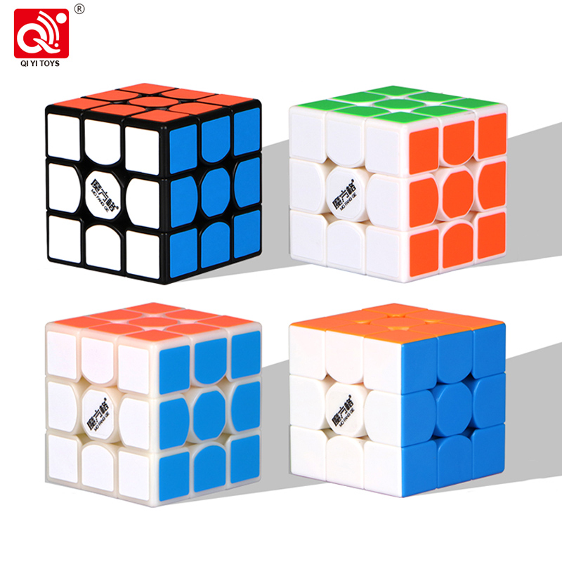 QiYi MoFangGe New thunderclap V2 Magic Cube 3x3 Thunder Clap Puzzles Cube professional Speed magico Cubo Traditional Cube Toys