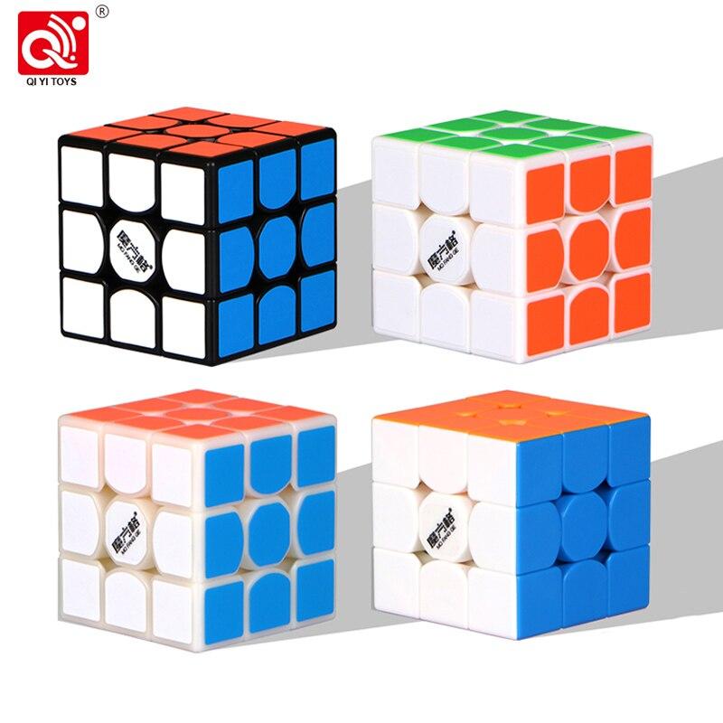 QiYi MoFangGe New thunderclap V2 Magic Cube 3x3 Thunder Clap Puzzles Cube professional Speed magico Cubo Traditional Cube Toys