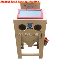 Sand Blasting Machine Manual Type Electric Sandblaster Metal Mould Descaling Surface Treatment CJ6050