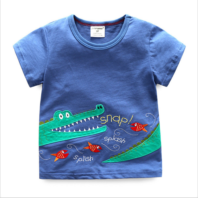 6c07b1231 Jumping baby brand Tees summer baby boys T shirts space cotton children  clothes hot selling toddler tops tees kids boy t shirt - aliexpress.com -  imall.com