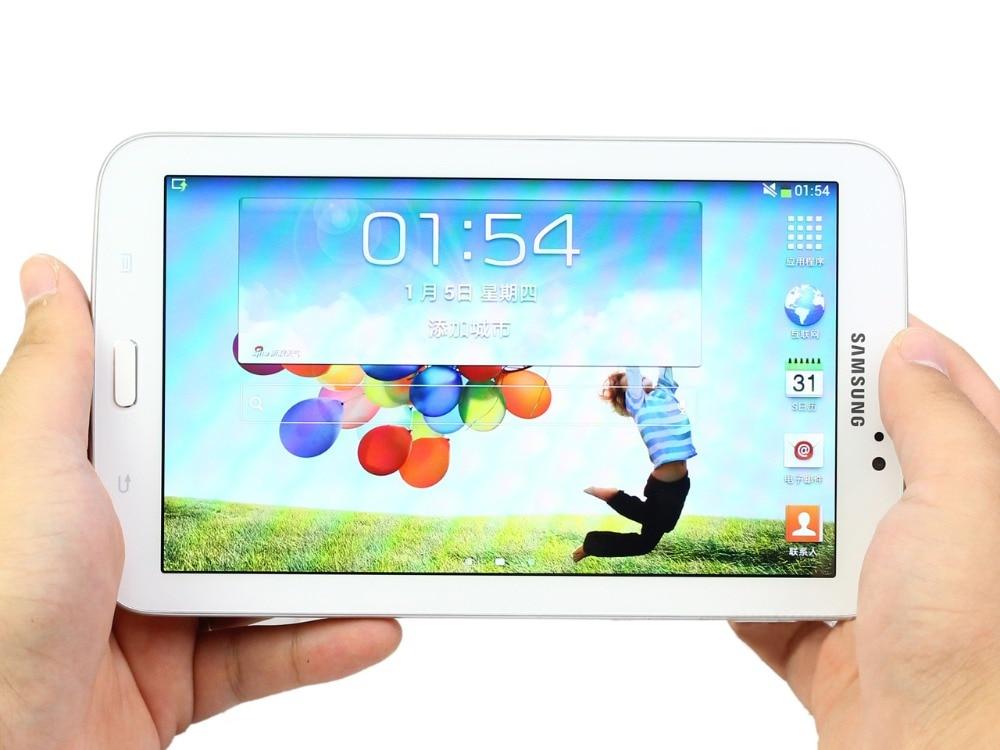 цена на Samsung Galaxy Tab 3 7.0 inch T211 3G+WIFI Tablet PC 1GB RAM 8GB ROM Dual Core 4000mAh 3.15MP Camera Android Tablet