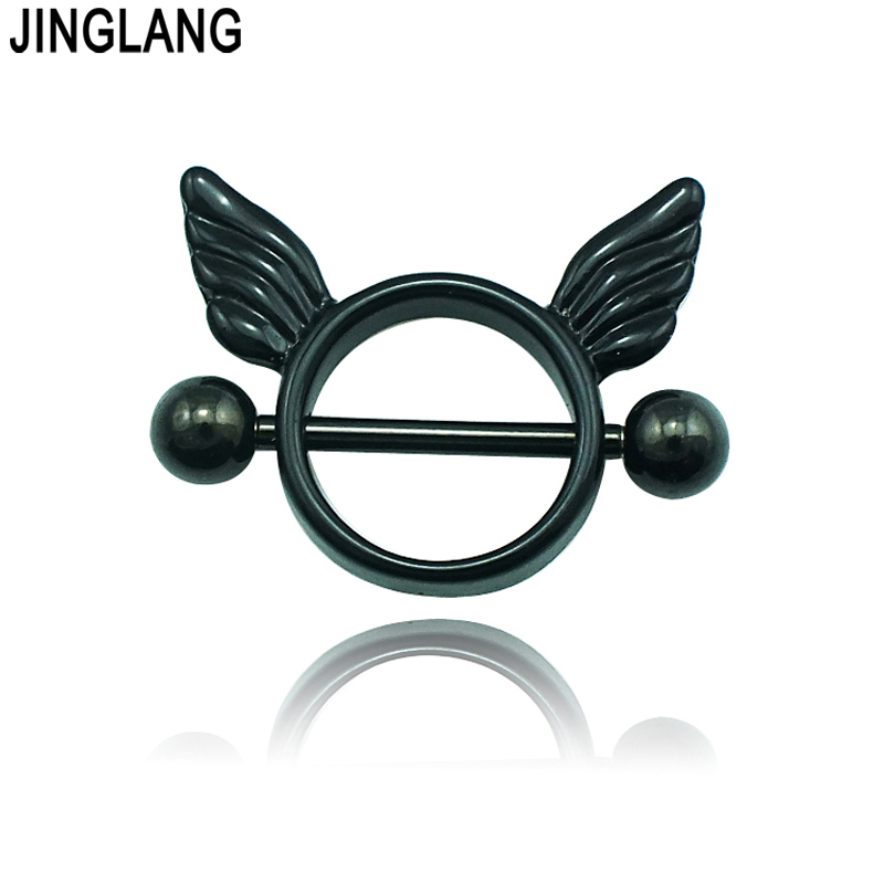 Jinglang Fashion Classic Nipple Rings 316l Stainless Steel