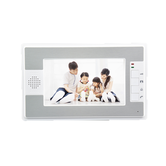 (1 SET) Intelligent Home 2 camera to 3 Monitor Video Door phone RFID Inductive Card Easy Unlock Family use HD 700 Lines intercom 4