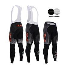 2015 Winter thermal fleece cycling bib pants sport pantalon ciclismo invierno hombre pro team bicycle mtb bike long pants