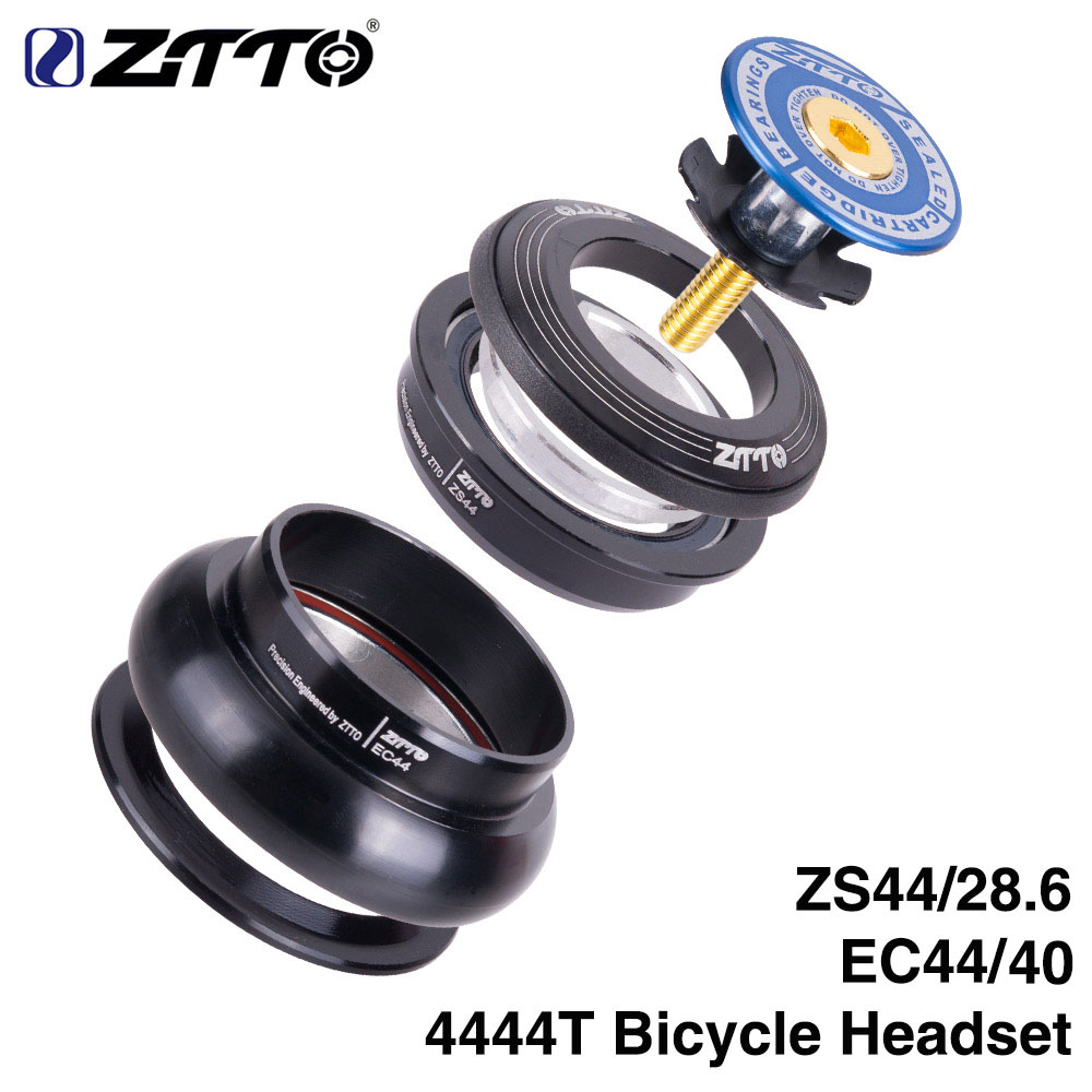 ZTTO Bicycle Headset 4444T MTB 44mm ZS44 EC44 CNC 1 1/8