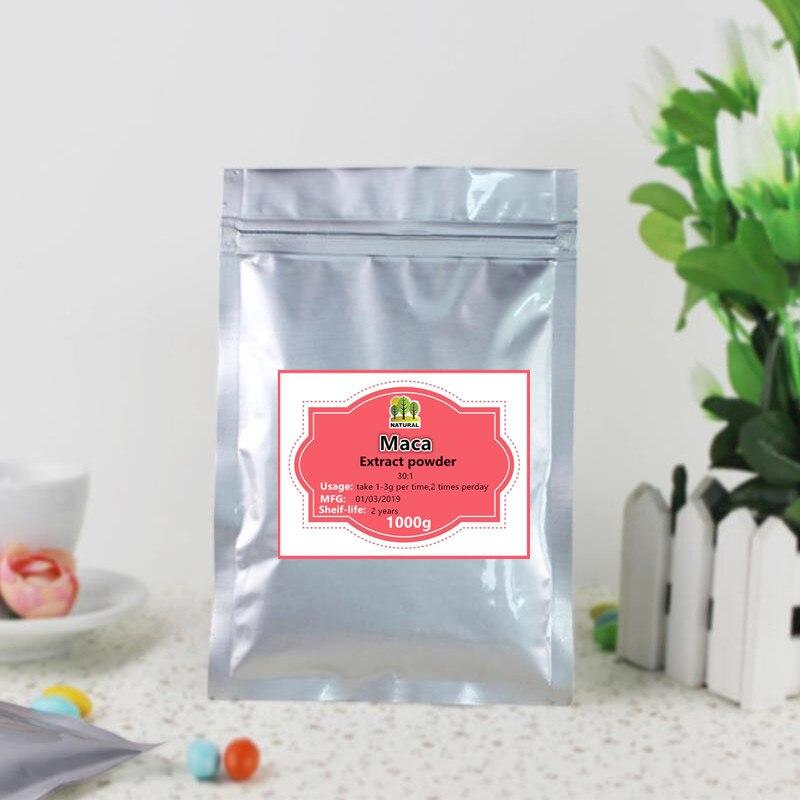 1000g de poudre d'extrait de Maca noir pur de haute qualité, lepidium meyenii, ma ka, Mhvaca, résistent à la fatigue et augmentent l'énergie