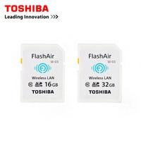 TOSHIBA W 03 WiFi SD Card 16GB 32GB SDHC Class 10 UHS I sd wifi Memory Card Flash Card For Digital Camera
