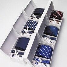 ZESTAW!!! Krawat, spinki do mankietów, poszetka