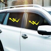 Magnetic 6PCS Car Sun Shade Side Window Sunshades For Toyota RAV4 Highlander Window Curtain Visor Solar Mesh Cover For Honda CRV