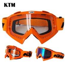 Профессиональные KTM мотоцикл goggle Крест шлем велосипеда горные велосипед goggle очки для Dirt Bike ATV UTV автомобиля