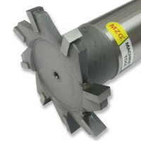 MZG Cutting Straight Tooth 16 30mm T Slot Milling Cutters Welding Edge Type Tungsten Steel Side
