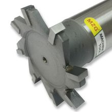 MZG Taglio Dritto-Dente 16-30mm T-Slot Fresatura Frese e taglierine per micro SIM di Saldatura Tipo di Bordo In Acciaio Al Tungsteno Lato fresa Scanalatura di Elaborazione
