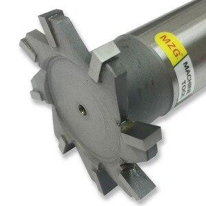Image 1 - MZG Schneiden Gerade Zahn 16 30mm T Slot Fräser Schweißen Rand Typ Wolfram Stahl Seite fräser Nut Verarbeitung