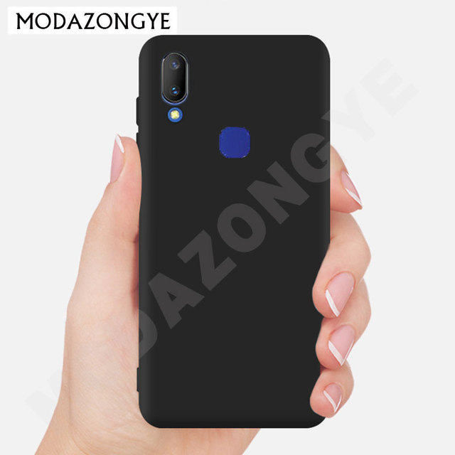 hot sale online 5e45a 6a50b US $1.59 20% OFF Vivo V11i Case Vivo V11i Case Silicone TPU Back Cover  Phone Case For Vivo V11i V 11i VivoV11i VivoV11 V11i Soft Protective  case-in ...