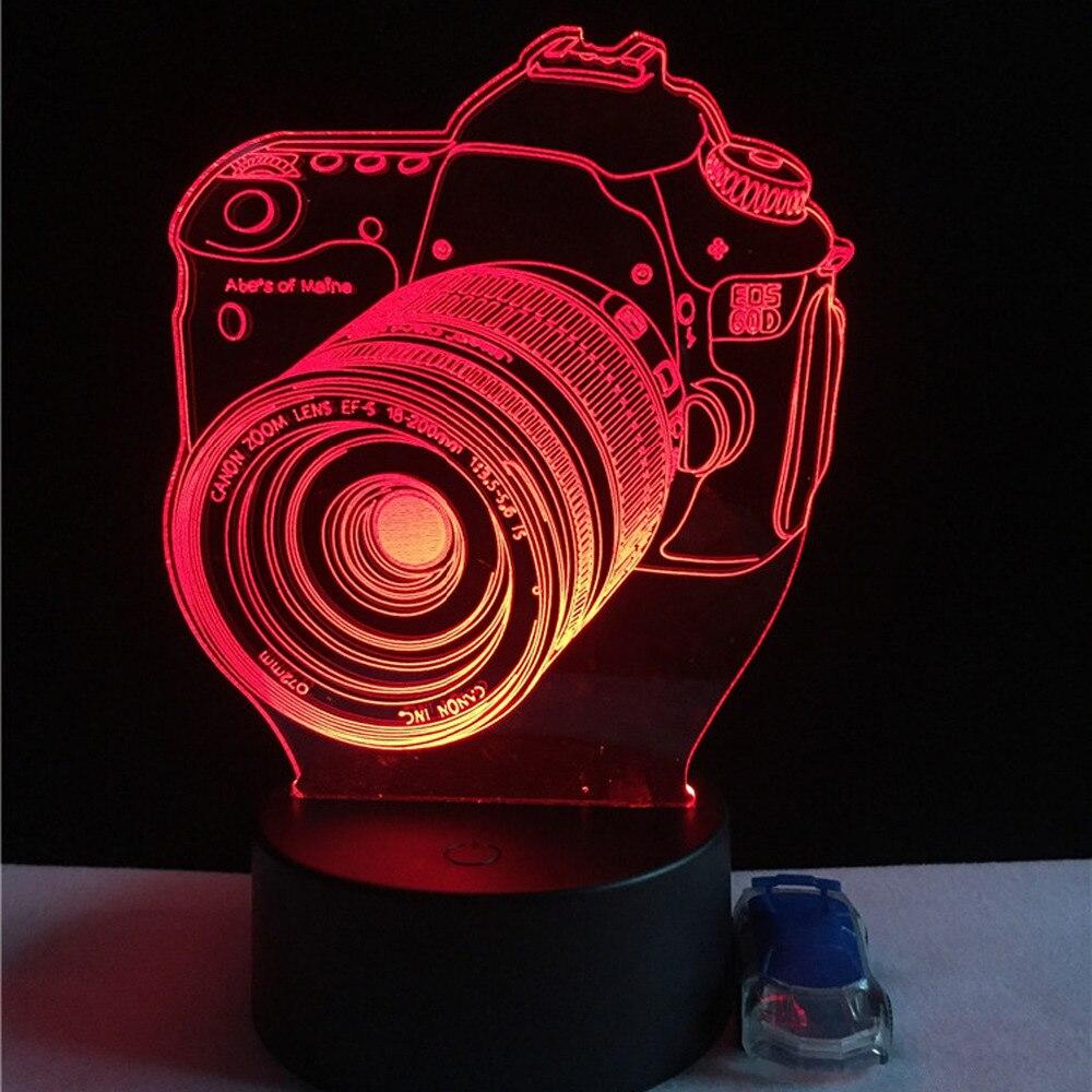 Luzes da Noite criança sala de estar/quarto mesa/lâmpada Formato : Camera