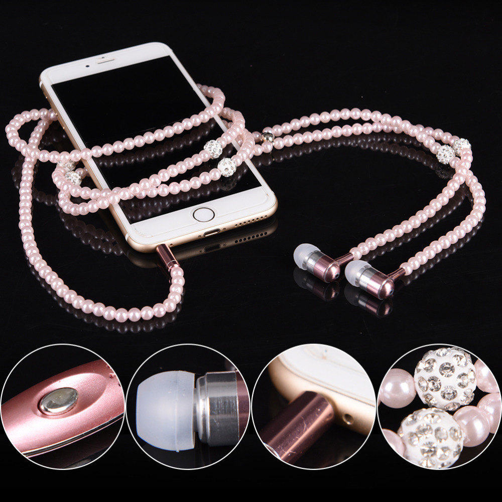 headphone-mp3-diamond-pearl-beads-in-ear