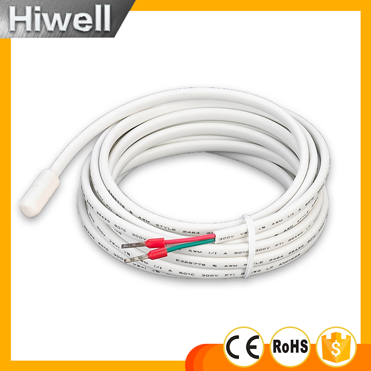 Floor sensor probe for floor heating 3M external floor sensor for floor heating thermostat( for electric heating, 16A ) SWITCH floor heating thermostat temperature control switch electric film thermostat electric geothermal uth 170r