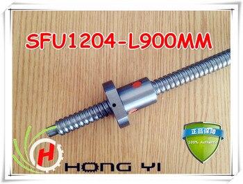 1 компл. 1204 прокат ballscrew линейный Motion ЧПУ XYZ ШВП SFU1204 l-900mm длина с одним Ballnut