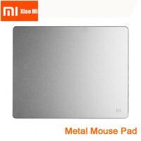 Новый 100% Оригинальный Xiaomi смарт-мышь коврик металлическая мышь тонкий алюминиевый тонкий коврики для компьютерной мыши Матовый для офиса