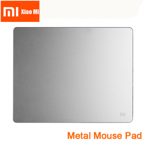 Image 1 - New 100% Original Xiaomi smart Mouse Pad Metal Mouse Pad Slim Aluminum Thin Computer Mouse Pads Frosted Matte for Office