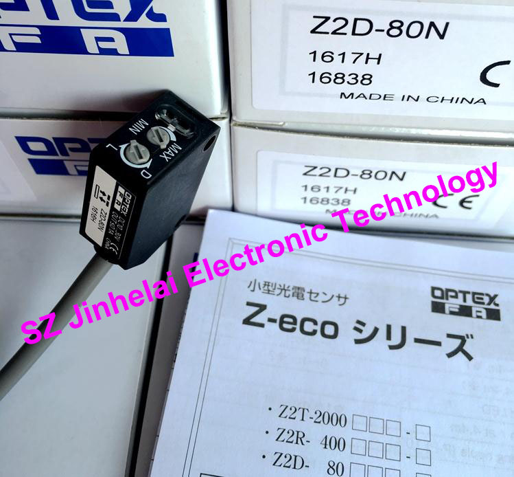 New and original Z2D-80N  OPTEX   PHOTOELECTRIC SWITCH  Photoelectric sensor new and original zr 350n optex photoelectric switch photoelectric sensor