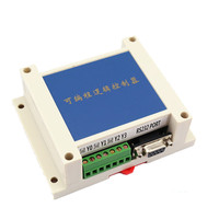 PLC Industrial Control Board FX1N FX2N 10MR 2AD Analog Direct Download Can Even Touch Screen Text
