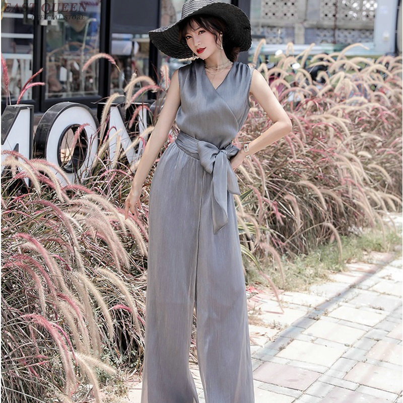 Jumpsuits for women 2018 female summer style ladeis elegant overalls for women rompers dungarees jumpsuit female