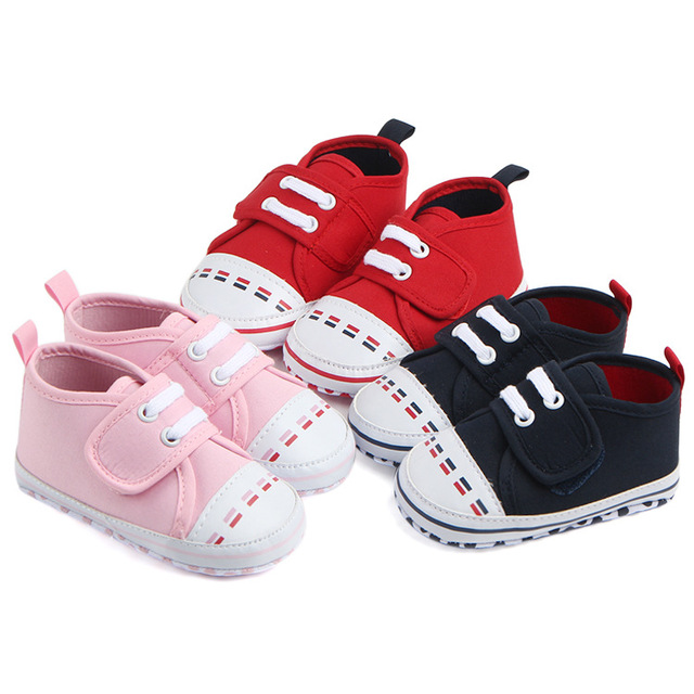 Free Shipping 1pair Baby Crib Shoes First Walkers Shoes 8ac52f831a5d