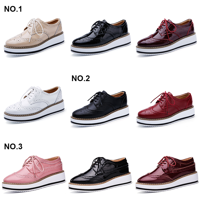 Appartements Red no3 no2 Matte Cuir Creepers No1 D366 Richelieu Chaussures Femmes Verni no3 Femme D366 White Oxford Pointu D366 O16u Wine D366b Beige forme no2 À no1 En Lacets Bout Marque D366 Pour Plate Black Pink D366b EYHDW29I