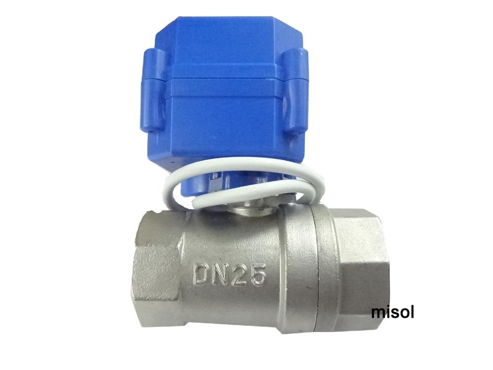 ФОТО 10 pcs motorized ball valve G1