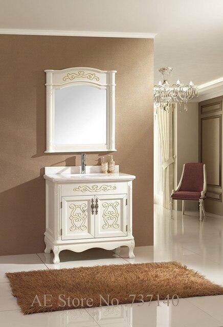 Bianco mobili mobiletto del bagno antico mobiletto del bagno mobili ...