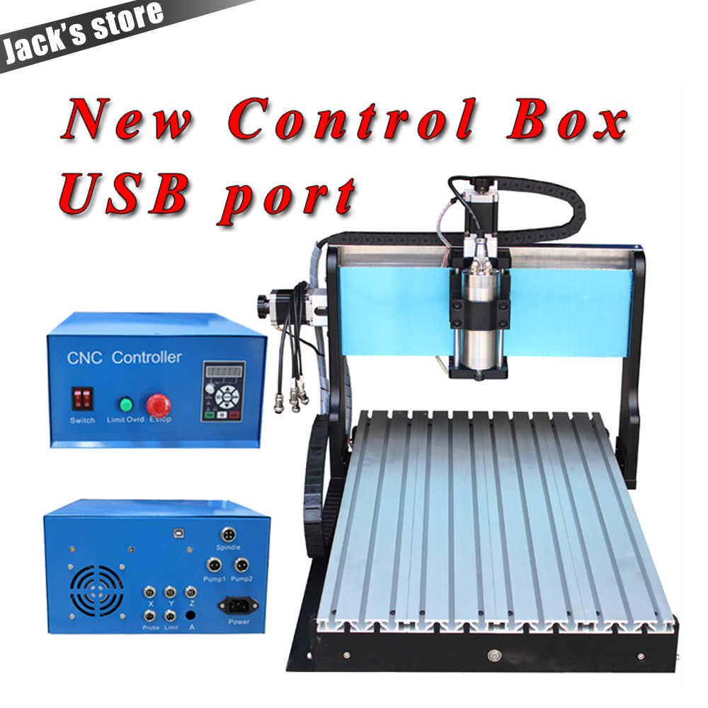 USB port ! 6040Z-SS++ ,1500W Spindle +2.2kw VFD CNC6040 CNC Router water-cooling Metal engraving machine cnc router machine 1pc 4axis cnc router 6040z usb mach3 auto engraving machine with 1 5kw vfd spindle and usb port for hard metal