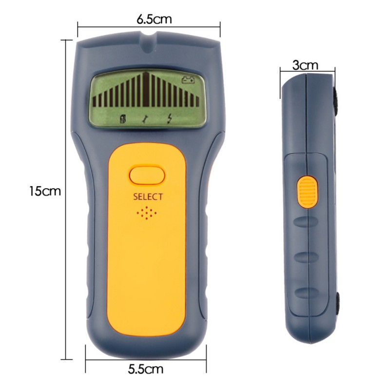 3 in 1 Industrial Metal Detectors Multi Scanning Wall Sensor With Sound Warning For Wood Stud Metal Detector Hot стоимость
