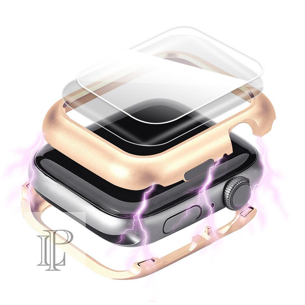 Magnetic Cover For Apple Watch Case Apple Watch 5 4 3 44mm/40mm Iwatch Band 5 42mm/38mm Screen Protector Protective Glass